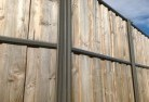 Abbeyard Lap and cap timber fencing 2