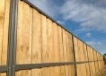Lap and Cap Timber Fencing Alumitec