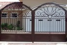 Abbeyard Wrought iron fencing 2